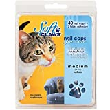 Feline Soft Claw Nail Caps - Small - Gold Sparkle