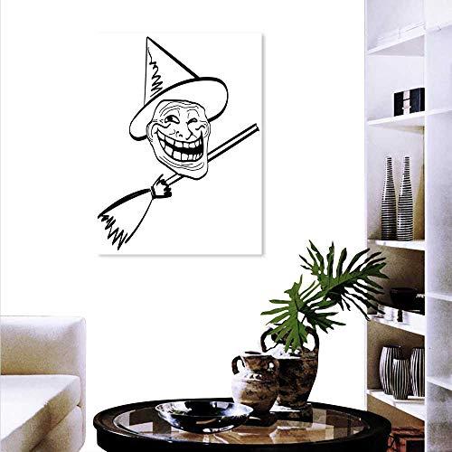 Humor Wall Art Canvas Prints Halloween Spirit Themed