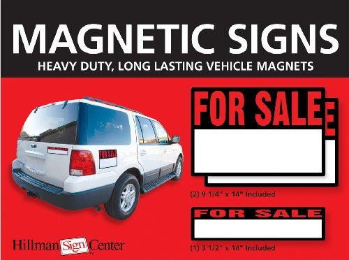 Amazon.com : Magnetic For Sale Signs Cars Trucks 2) 9.25  Free For Sale Signs For Cars