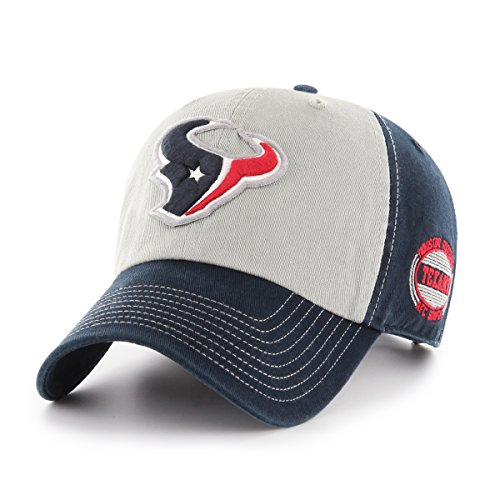 NFL Houston Texans Adult Tuscon Ots Challenger Adjustable Hat, One Size, Navy]()