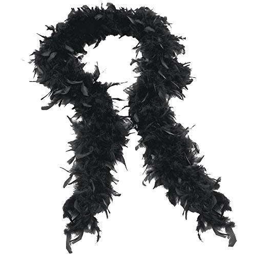 Scarves Hot Sale! Quality Feather Boa Flapper Hen Night Burlesque Dance Party Show Costume ()