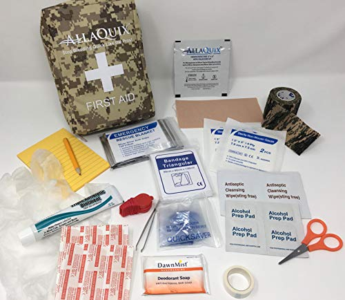 (Scout Personal First-Aid Kit Plus (IFAK containing All Required Items for Boy Scout (BSA) Personal First-Aid Kit Plus More))