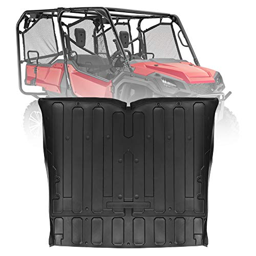 - kemimoto Rubber Bed Mat Liner, TPE Rear Cargo Bed Liner Mat for Honda Pioneer 2016-2019 SXS 1000 M5-5 Seater