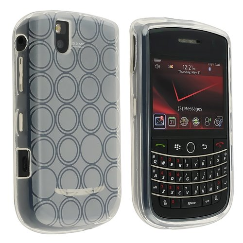 eForCity 5 PCS RING HARD GEL CASE COVER Compatible with BLACKBERRY BOLD 9650 - coolthings.us