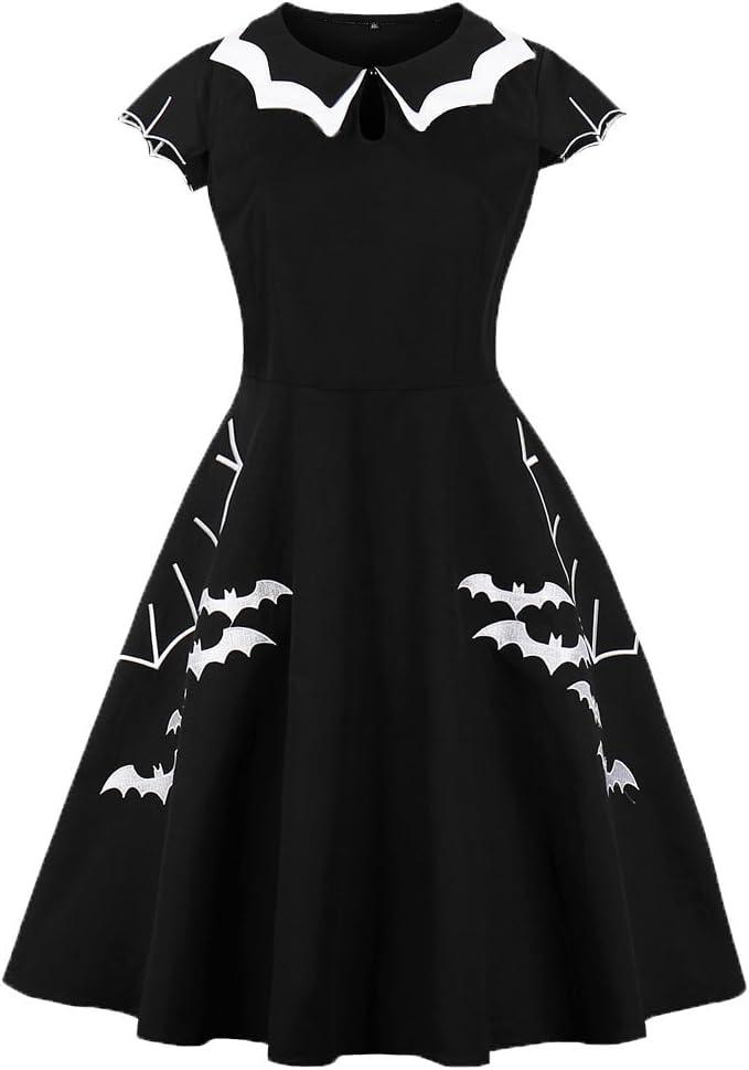 Gothic Vampire Bats Dress