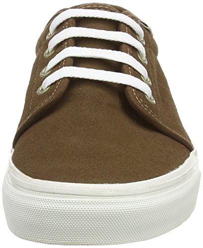 VansU 106 VULCANIZED VINTAGE - Zapatillas Unisex adulto marrón - Braun ((Vintage) dark earth/blanc)