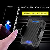 [Special Offer] Miracase Wireless Charger, Car Mount Charger Air Vent Phone Holder, Fast Charging 10W for Samsung Galaxy S8, 7.5W for iPhone X/8/8 Plus/XS/Max (Suction cup base another item for sale)