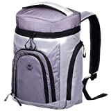 Insulated Leak Proof Cooler Backpack - with 2 Cooler Compartments for Keeping Food and Drinks Cool in The Outdoors for Picnics, Fishing, Hiking and Day Trips.