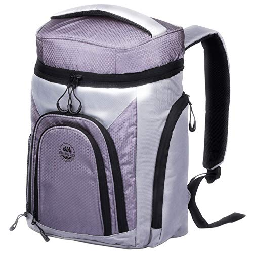 Leakproof Cooler Backpack With 2 Cooler Compartments For The Outdoors