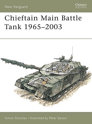 New Vanguard 80: Chieftain Main Battle Tank 1965-2003 ()