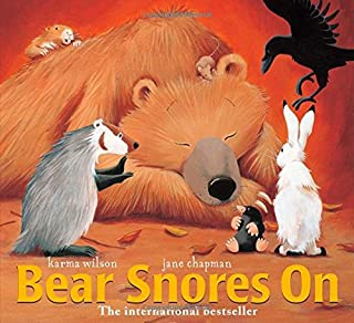Book Cover: Bear Snores On