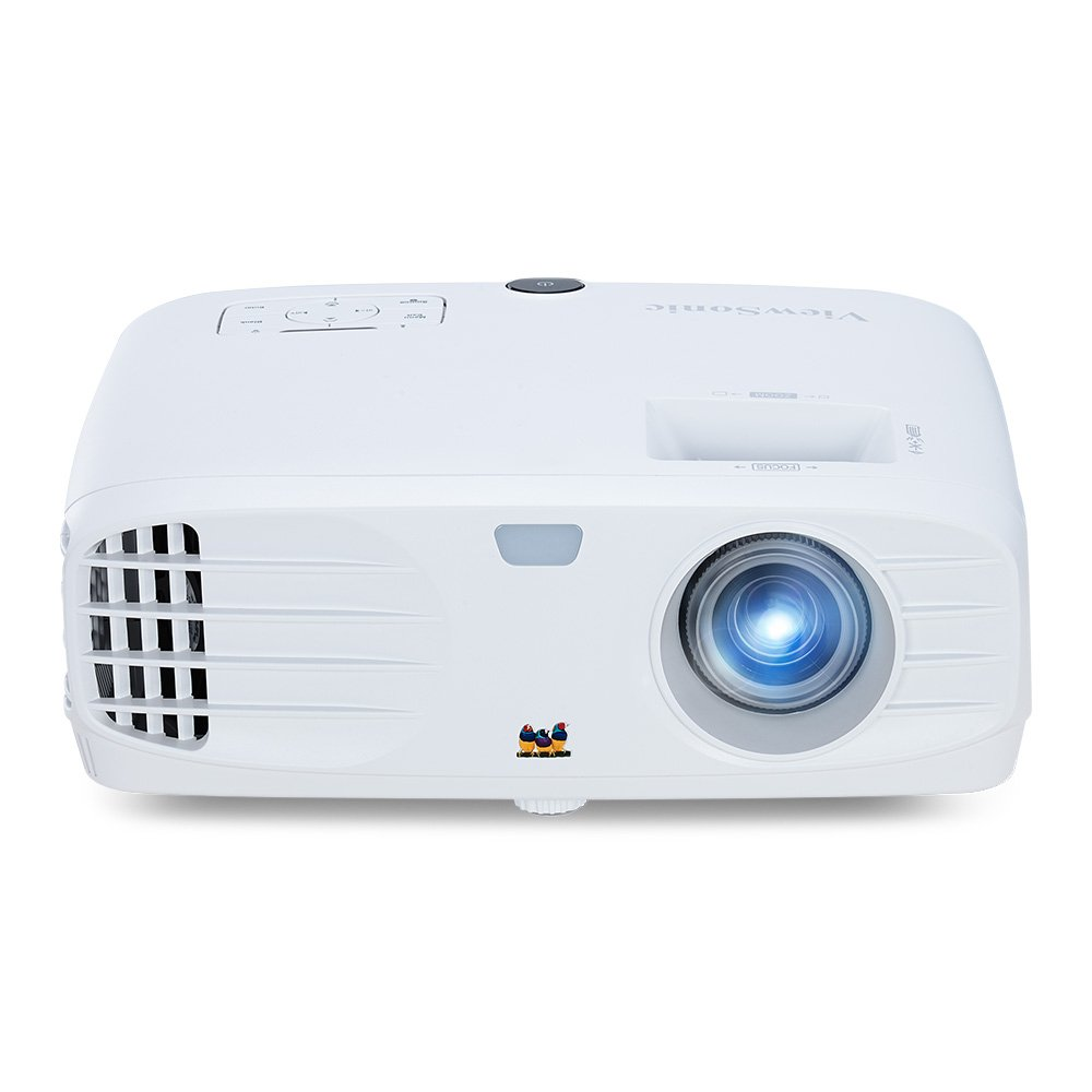 ViewSonic PX747-4K 4K Projector with 3500 Lumens and HDMI Ideal for Home Theater, White