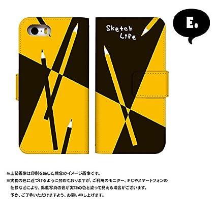 296e297b8c Amazon | スマホケース 手帳型 アイフォン5sケース 8151-A. 小さい星 iphone5s iphone5se iphone5 ケース [ iphone5s] アイフォンファイブエス | ケース・カバー 通販