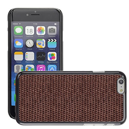 Premio Sottile Slim Cassa Custodia Case Cover Shell // V00002025 texture tissée // Apple iPhone 6 6S 6G 4.7""
