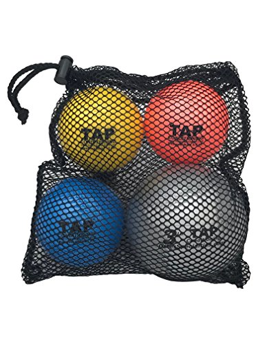 Senior Cricket Set - TAP Extreme Duty (Heavy Training Balls) | Weighted balls used in batting and cricket bowling by TAP Conditioning