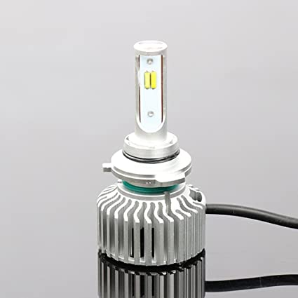 Auto LED faro, meiboall 2pcs Tres Color H1 H4 H7 H11 9002 ...