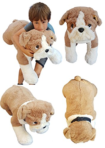 Deluxe Paws Extra Large Bulldog Plush Soft Toy 26