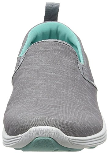 Slip Sneakers Women's Blue Light in Vionic Kea On Wide Silver tTqdwX