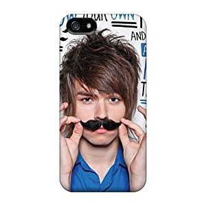 New TinaMacKenzie Super Strong The Ready Set Cases Covers For Iphone 5/5s