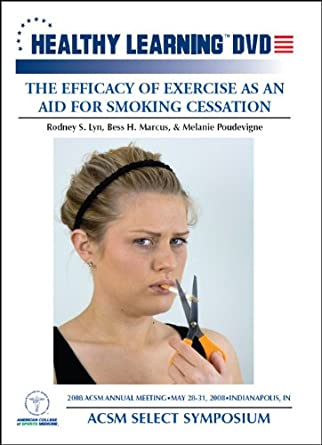 Amazon The Efficacy Of Exercise As An Aid For Smoking Cessation