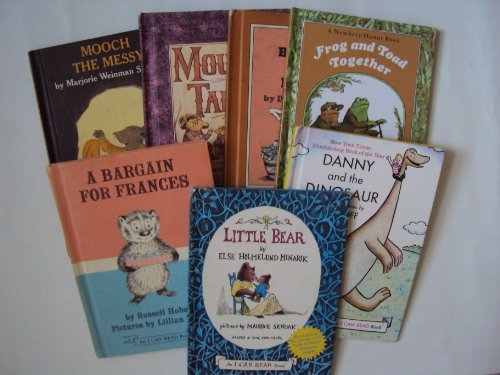 Frog Toad Collection Box Set (Hardcover Set: A Bargain for Francis; Danny and the Dinosaur; Frog and Toad Together; Hattie Be Quiet, Hattie Be Good; Mouse Tales; Mooch the Messy; Little Bear (Children Book Sets : Little Bear))