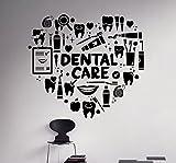 Dental Care Wall Decal Dentist Medical Vinyl Sticker Home Decor Ideas...