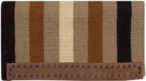 Casa Zia Extra Thick Saddle Blanket / Saddle Pad by Southwestern (Wool Western Pad)