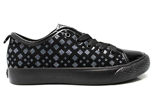 Fiorucci FDAD018 Nero e Grigio Sneakers Donna Calzature Comode Woman  Amazon .it  Scarpe e borse 3fae1e8930c