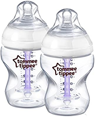 Tommee Tippee 422603 - Biberón anticólico, 260 ml (pack de 2): Amazon.es: Bebé