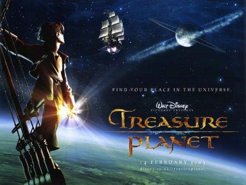 Treasure Planet Poster Movie 11x17 Emma Thompson Roscoe Lee Browne Corey Burton Dane A. Davis