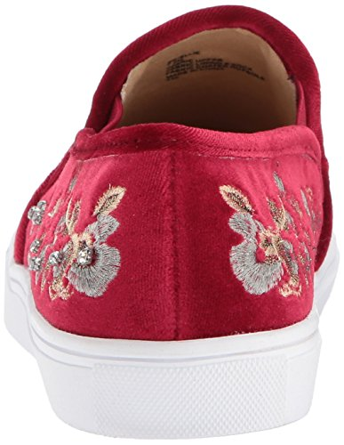 Sneaker Johnson velvet Women Sb by Blue Ellie burgundy Fashion Betsey qBan0