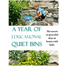 A Year of Educational Quiet Bins: The secret to peaceful days at home with kids.