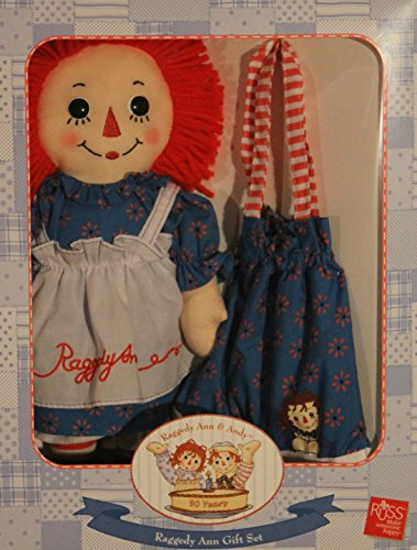 Doll Andy Set (Raggedy Ann Boxed Gift Set with 12