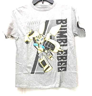 Boys Transformers Bumblebee Graphic Shirt (Small 6/7)