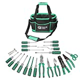 (Ship from USA) Commercial Electric 22 Piece Tool Electrician Set Tools Pliers Kit Wire ET07001 /ITEM NO#8Y-IFW81854180522 (Tool Set)