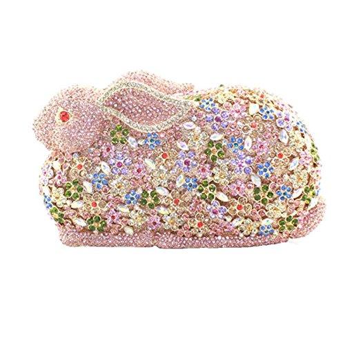 Sac Pour Diamant Pour De à Luxe Lapin A Main En Femme Diamant qZrCfwq