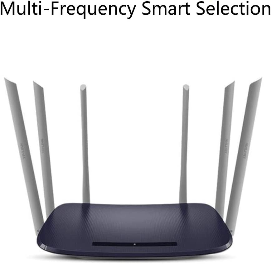Ofay Wifi Router Dual Frequency Mesh Distributed Wlan Router 1900m Port Wave 3x3 Mu Mimo Multi Frequency Integration For Home Vpn Laptop Küche Haushalt