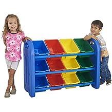 ECR4Kids  Toy Storage Organizer with 12 Bins
