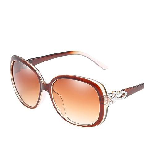 BiuTeFang Gafas de Sol Mujer Hombre Polarizadas Moda señoras ...