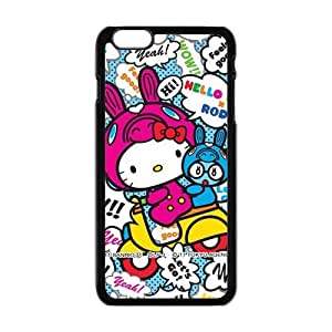 Happy Hello kitty Phone Case for iphone 4 4s Case