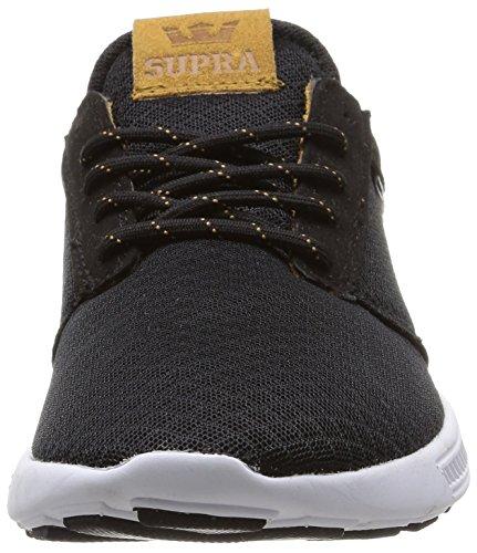 Supra Nero Hammer Noir Unisex White Black Sneakers Brown Run wwzPvFq6