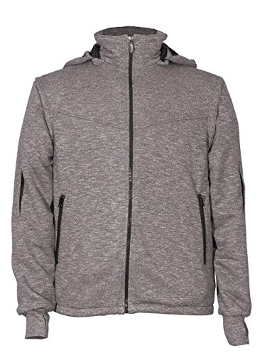 Men's Sweatshirt Joey Travel Jacket, X-Large, Dark...