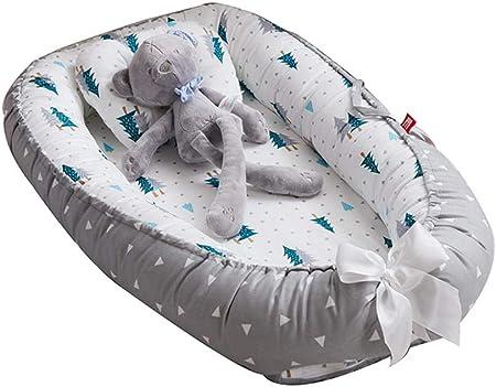 Crece con tu bebé – Tumbona ajustable para bebé, el dormir crece con tu bebé. Espacio ajustable para