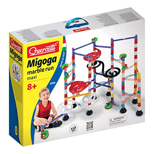 (Quercetti Super Marble Run - Italian Made - 213 Pieces - for Ages 8 and Up )