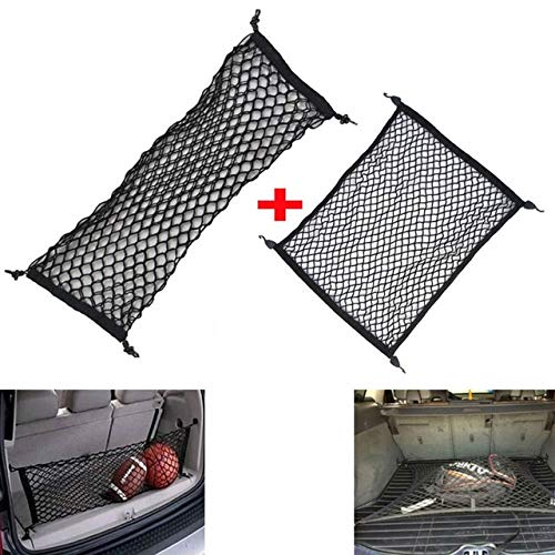BEESCLOVER Car Rear Trunk Cargo Organizer Elastic Mesh for sale  Delivered anywhere in Canada