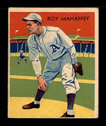 (1934 Diamond Stars #10 Leroy Mahaffey w/A VGEX X1706559)