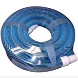 Swimming Pool Suction Vacuum Head Cleaner Hose Cleaning Tool in Ground 40 Feet