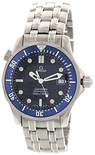 Omega Seamaster swiss-quartz mens Watch 2561.80.00 (Certified Pre-owned)