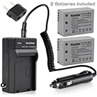 Kastar Battery (2-Pack) and Charger Kit for Canon NB-7L, CB-2LZE work with Canon PowerShot G10, PowerShot G11, PowerShot G12, PowerShot SX30 IS Digital Cameras