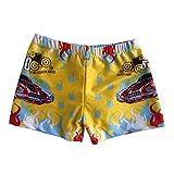 Boy's Swimwear Sport Shorts Beach Shorts Swim Trunks,Yellow
